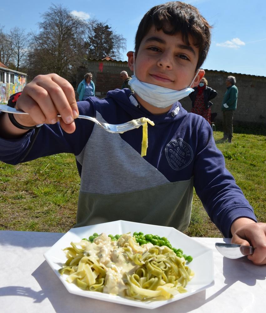Mittagessen für Kinder