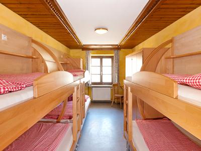 Zimmer im Jugendgästehaus Tauernruh
