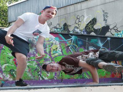 Breakdance-Kus für Kinder in der MoveFactory